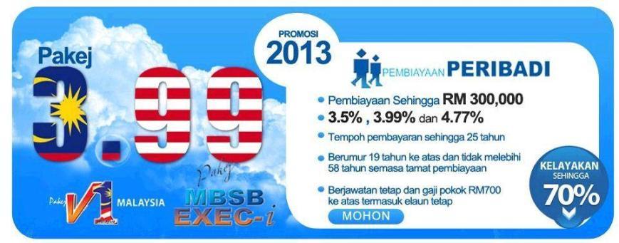 MBSB Direct | Pembiayaan Peribadi 3.77%